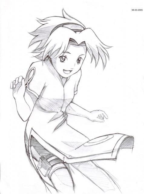 476x640 Sakura Sketch By Sakura Haynes