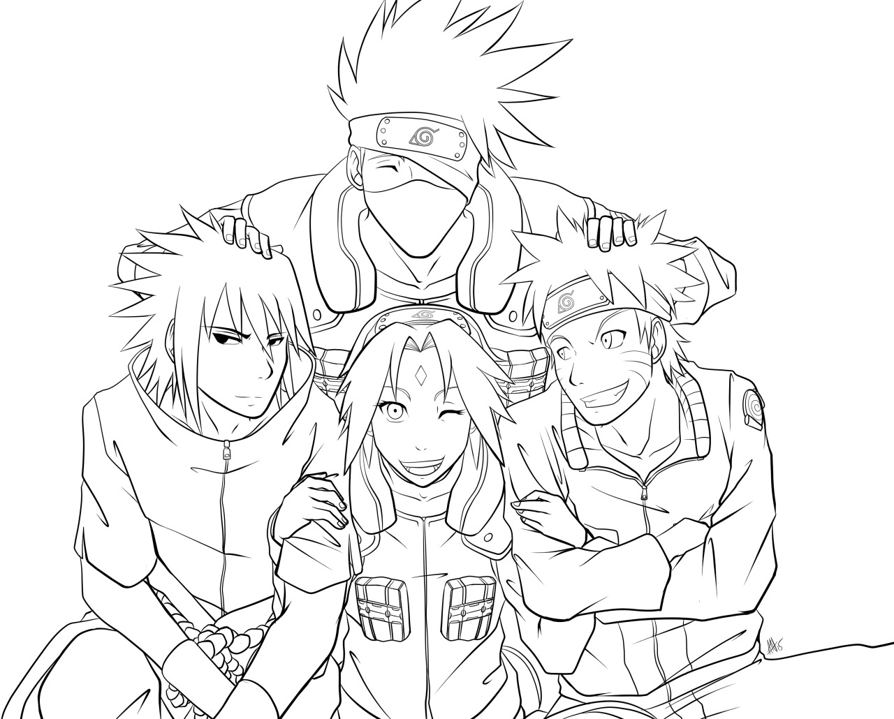 Naruto Sakura Drawing at GetDrawings.com | Free for ...