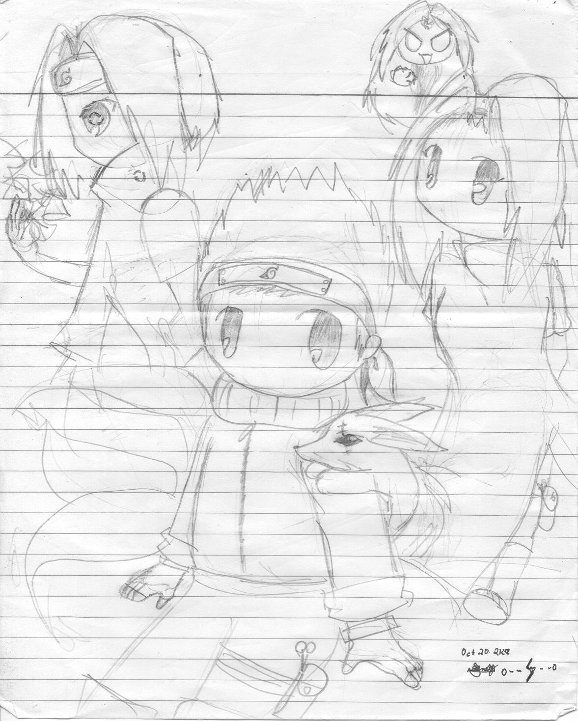 1177x1468 Chibi Naruto,sakura And Sasuke By 0 Sakura Dita 0