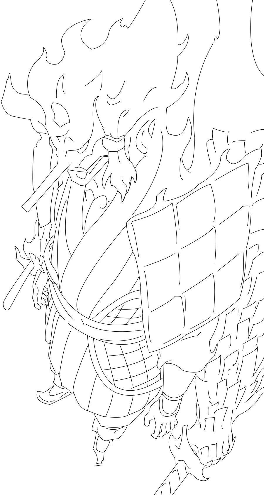 900x1688 Pages Coloring Sasuke Sussano Sasuke Uchiha Susanoo