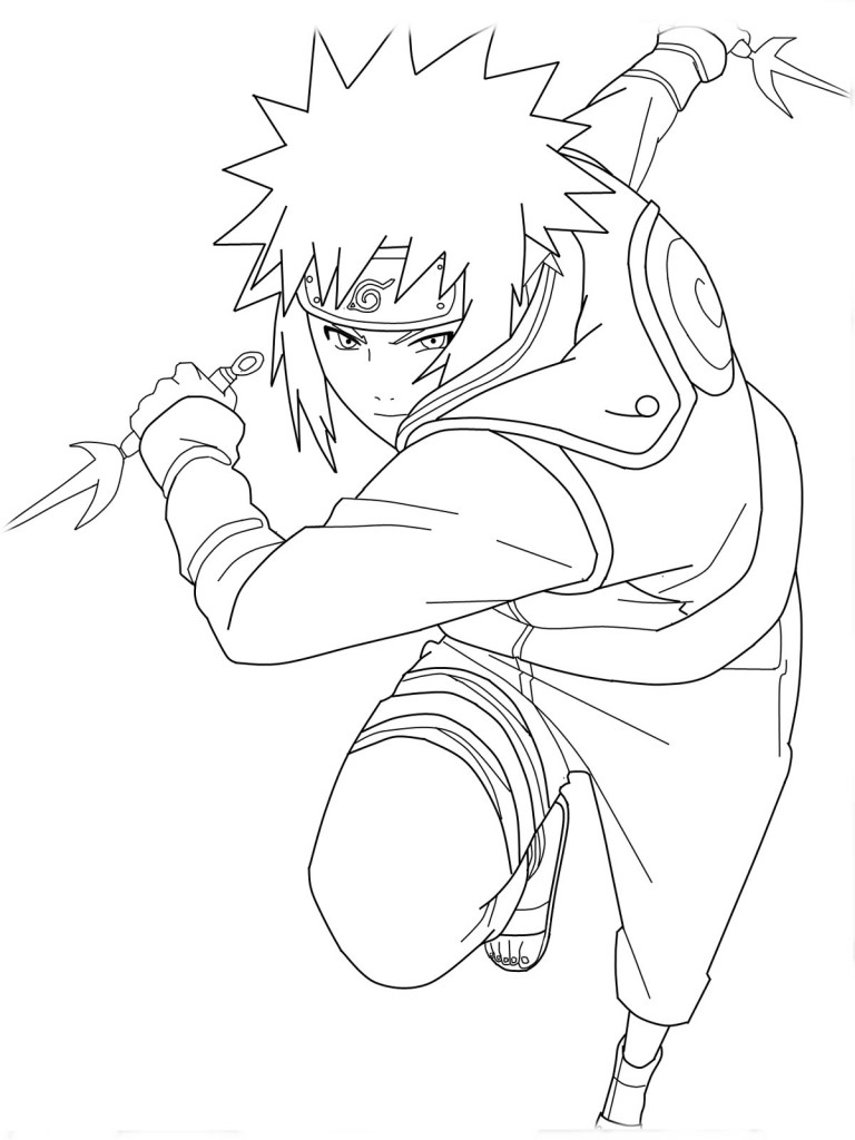 768x1024 Naruto Shippuden Coloring Pages Coloring Pages
