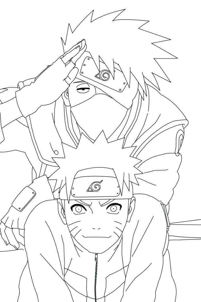 697x1050 Naruto Shippuden Coloring Pages Coloring Pages Naruto Shippuden
