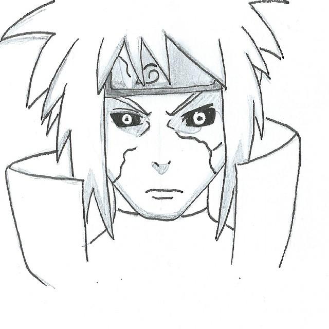 Naruto Minato Drawing