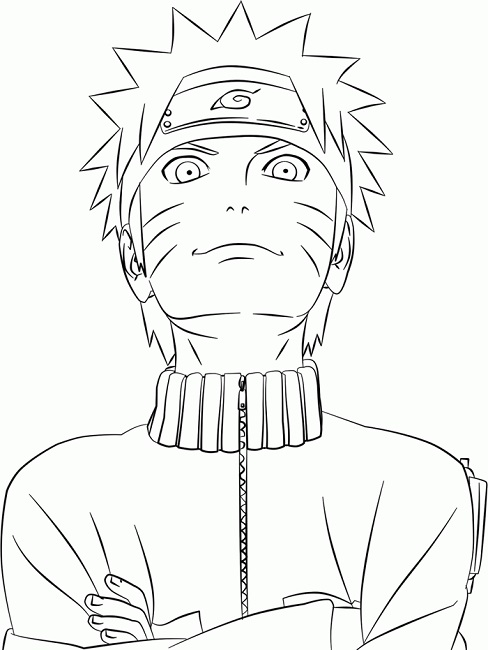 488x650 Naruto Shippuden Coloring Pages Print Anime Naruto