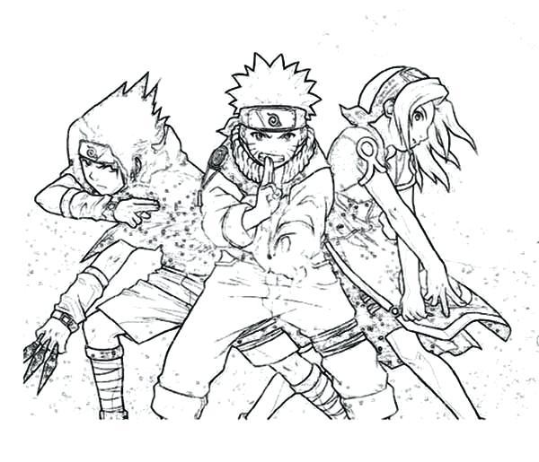 Naruto Style Drawing At GetDrawings.com