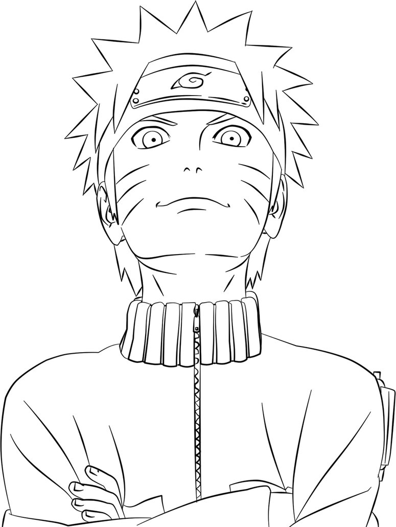 775x1031 Ordinary Style Naruto Coloring Pages Printable Free Coloring