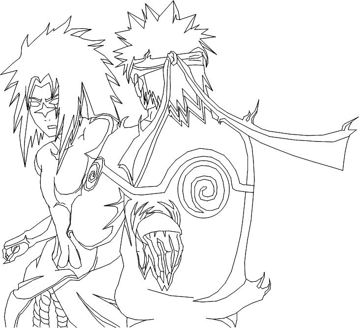 731x668 Naruto Vs Sasuke By Vjsasuke