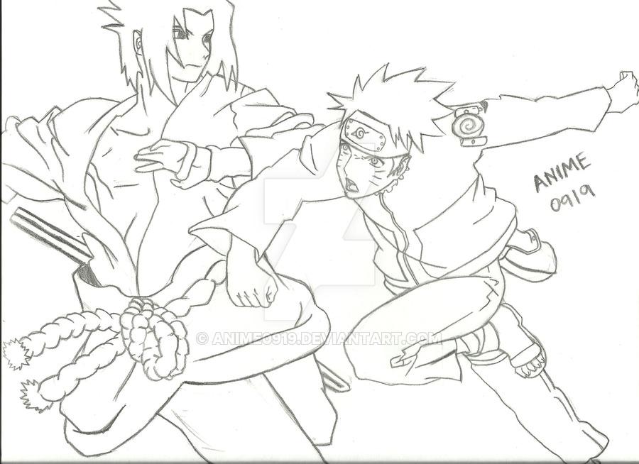 900x654 Naruto Vs. Sasuke Incomplete By Anime0919