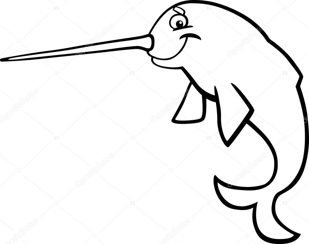 Narwhal Drawing at GetDrawings.com | Free for personal use Narwhal ...