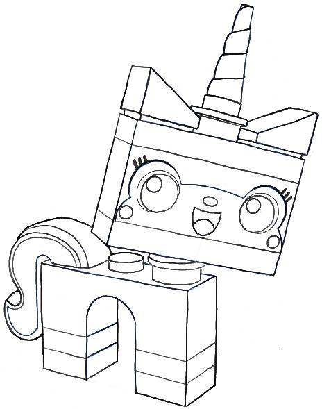 464x589 Drawn Narwhal Lego