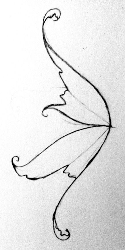 435x869 Drawn Narwhal Wing