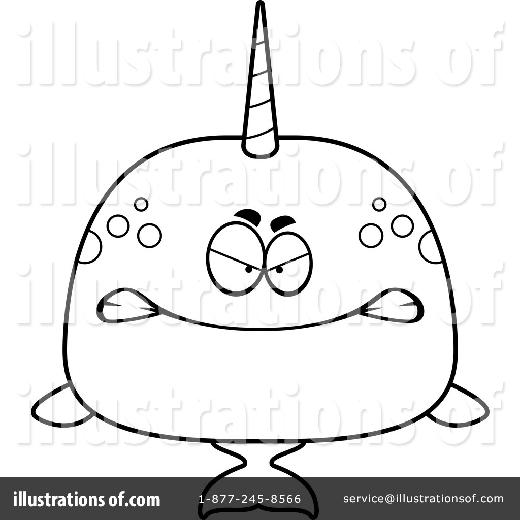 1024x1024 Narwhal Clipart