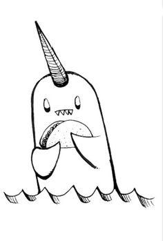 236x349 Narwhal Mascot And Logo Logo Logos And Profile Design