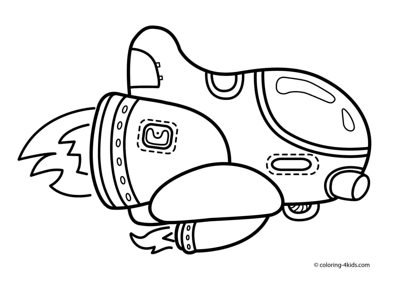Nasa Spaceship Drawing at GetDrawings | Free download