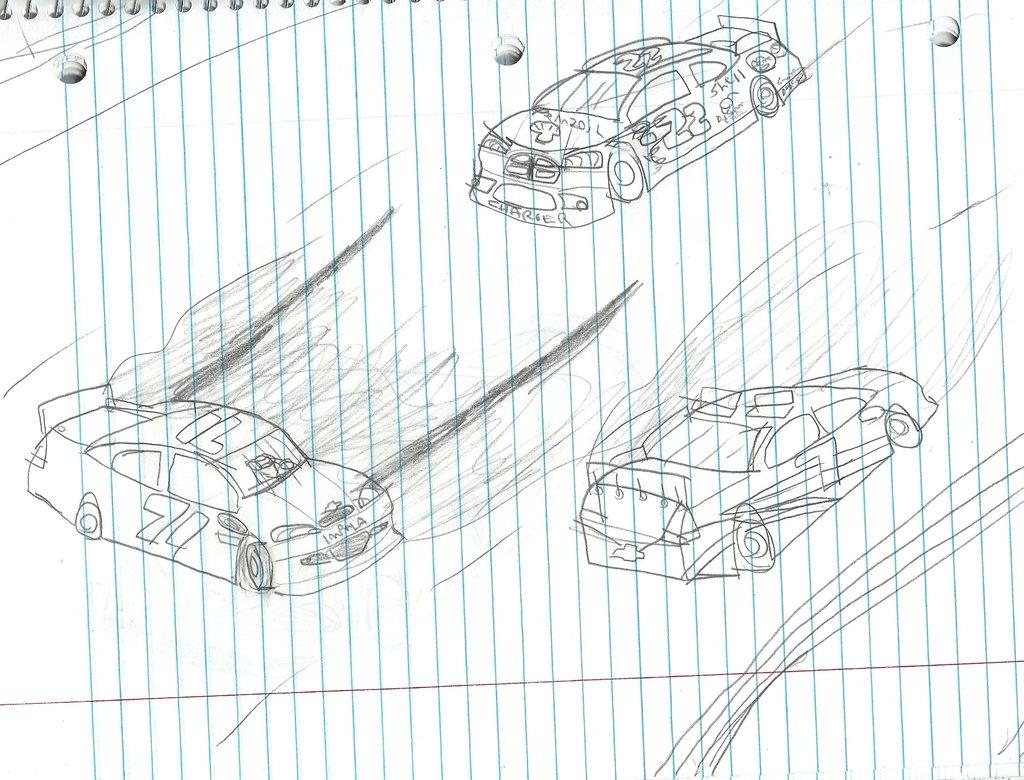 Nascar Drawing