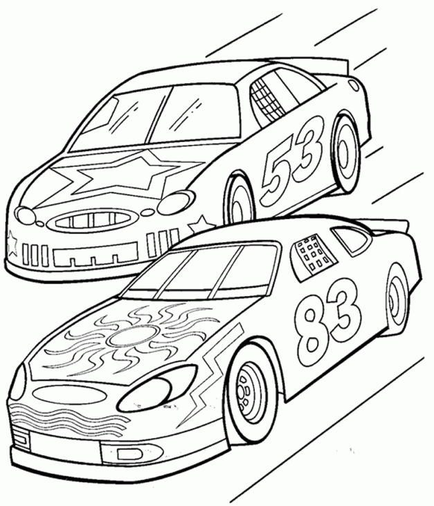 627x730 nascar coloring page online sports coloring pages pinterest
