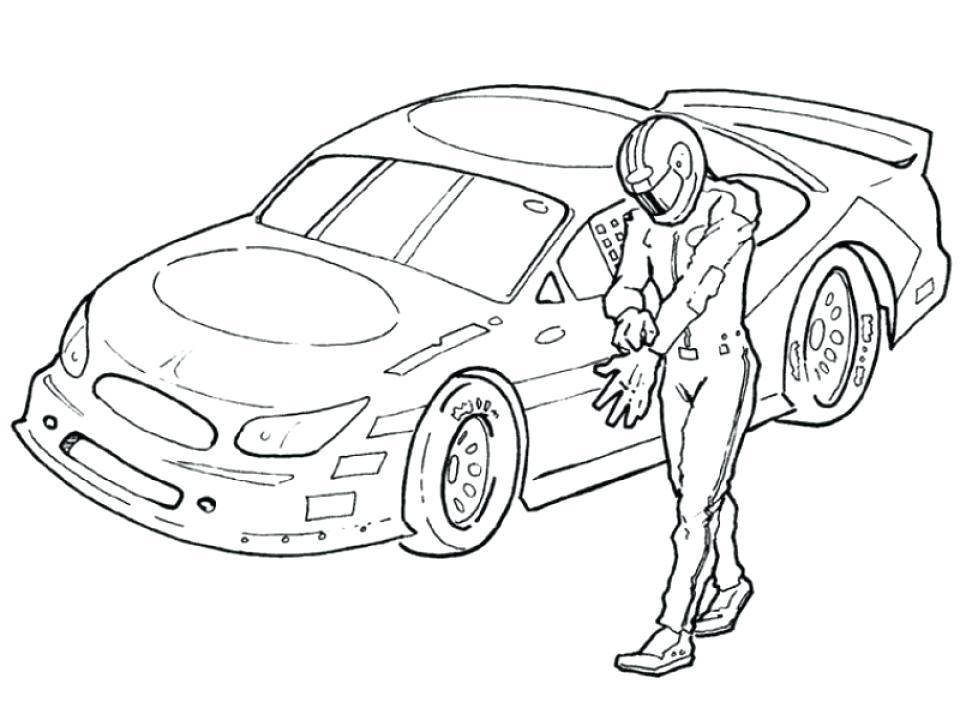 Nascar Drawing at GetDrawings | Free download