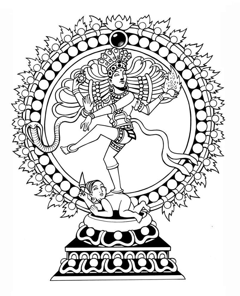 805x993 Nataraja (Dancing Shiva) By Tillinghast23