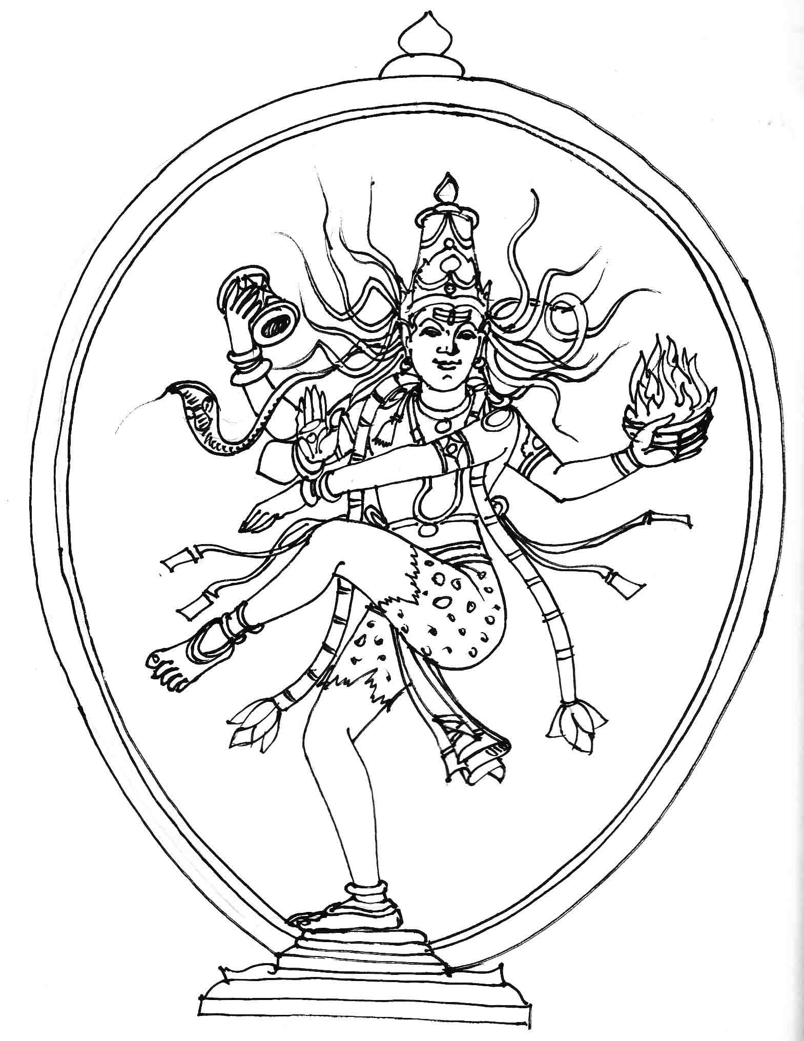 1569x2032 Nataraja Drawing