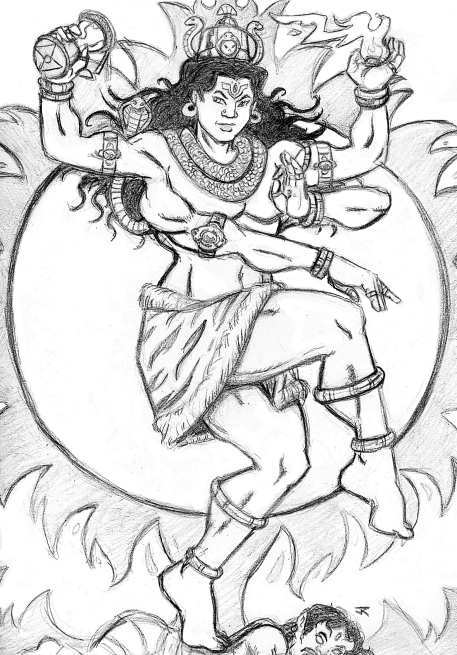 457x655 The Dance Of Shiva By Jrthemonsterboy