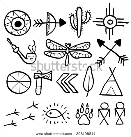 Native American Arrow Drawing At Getdrawings Free For Personal