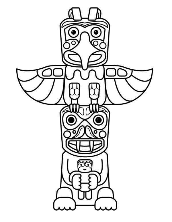 The Best Free Totem Drawing Images Download From 495 Free Drawings