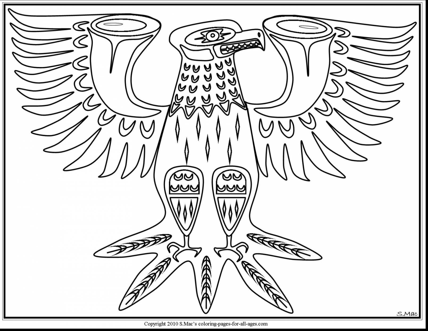 1815x1402 Fantastic Native American Art Coloring Pages With Native American