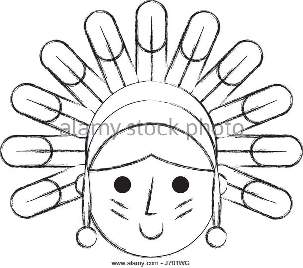 610x540 Native American Character Stock Photos Amp Native American Character