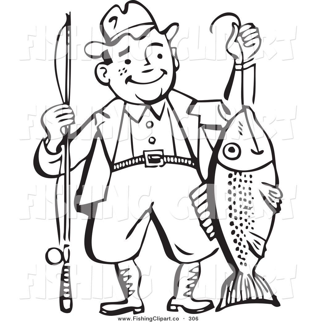 1024x1044 Native American Clipart Fisherman
