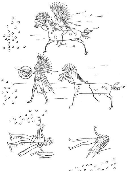 451x600 Native American Drawings
