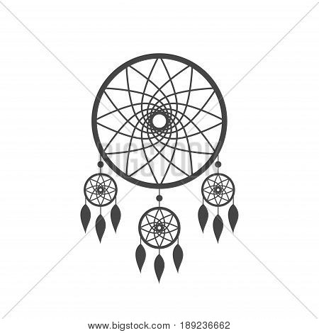 450x470 Dreamcatcher Icon Isolated On Vector Amp Photo Bigstock