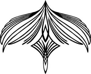 300x242 Native American Feather Symbol Vinyl Decal Sticker Car Truck Sign