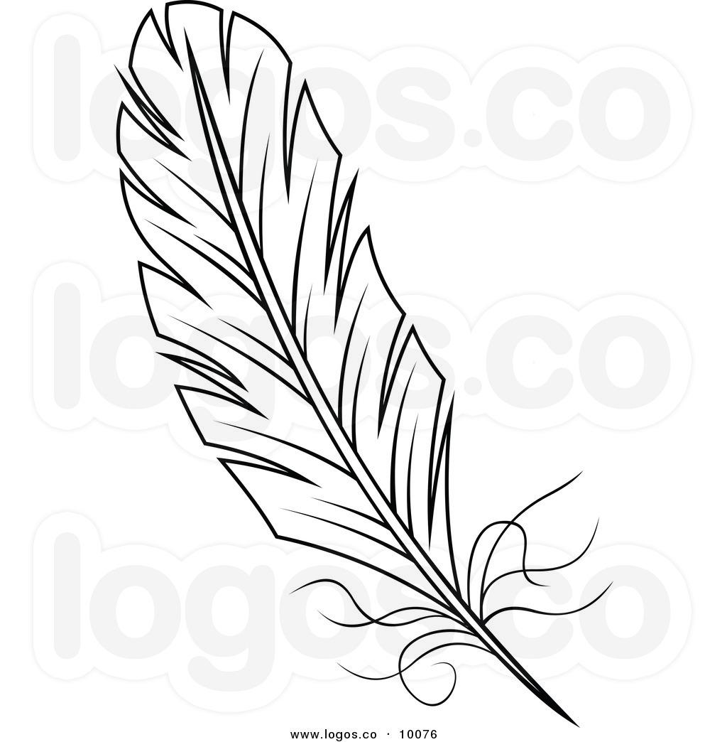 1024x1044 Feather Outline Clipart