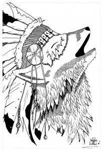 205x300 Draw Native American By Valentin Civilizations Archives