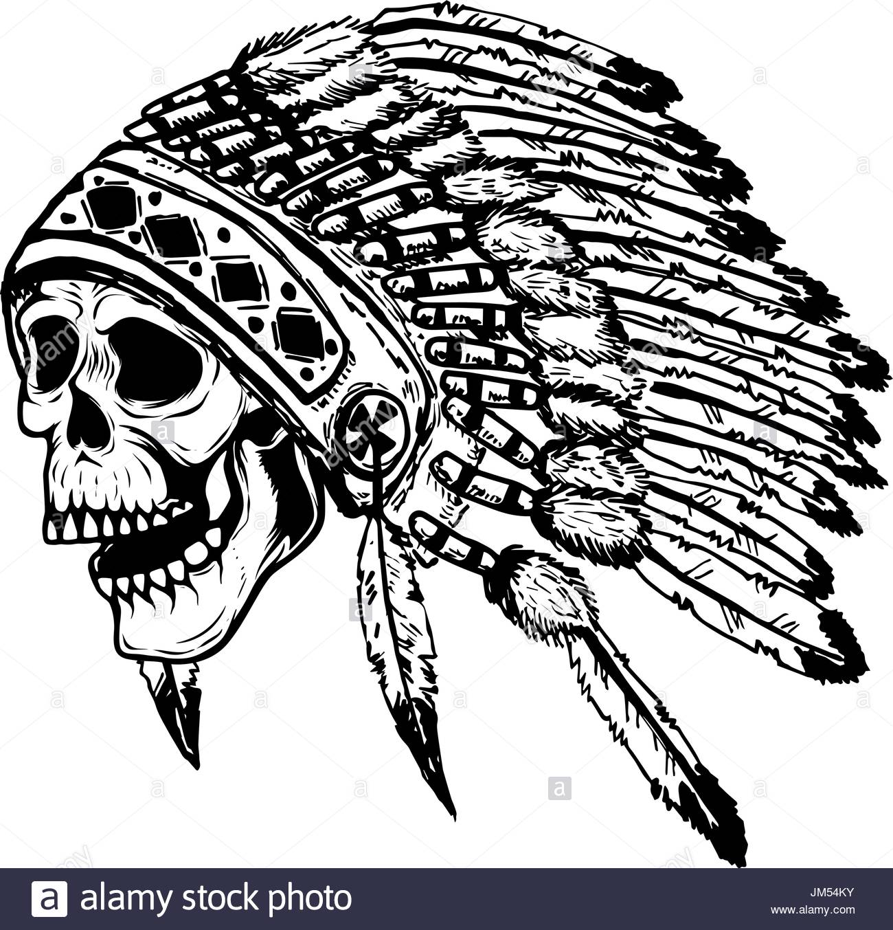 1300x1353 American Indian Stock Vector Images