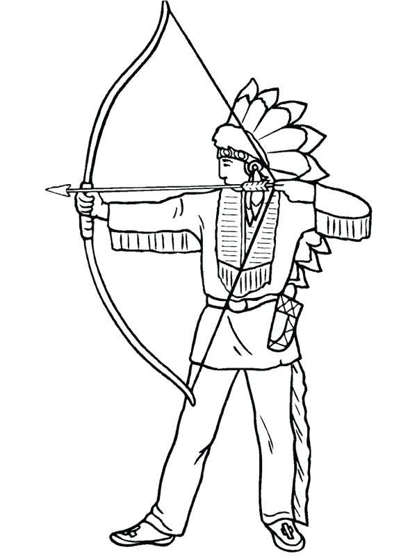 Native American Indian Drawing at GetDrawings.com | Free for ...