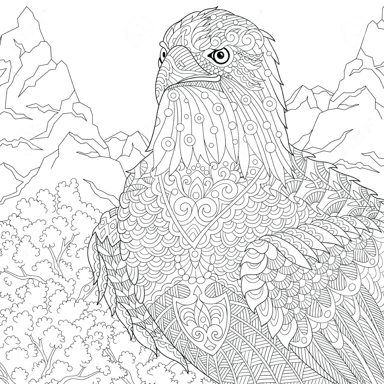 1300x1300 Coloring American Symbols Coloring Pages State Flower Page Native