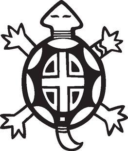 263x310 Native American Symbols Clipart Turtle Southwest Graphics