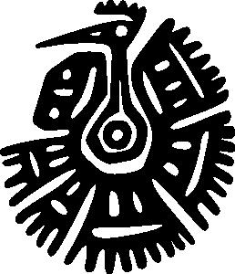 258x300 Ancient Mexico Motif Clip Art Art Ideas Clip Art