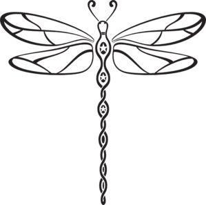 299x297 Drawn Dragonfly Native American