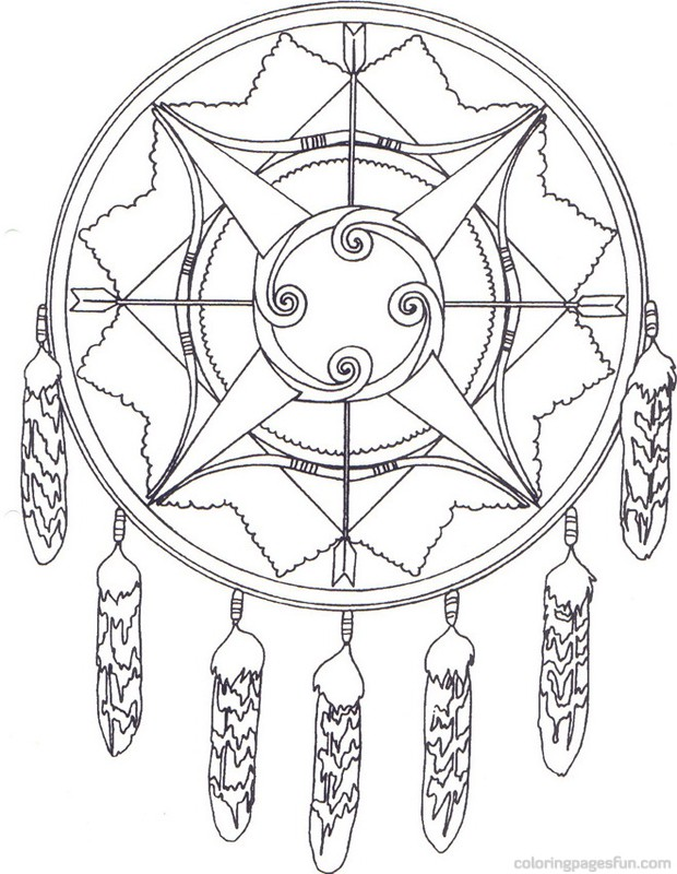 620x800 Dazzling Design Native American Color Pages Warrior Coloring Page