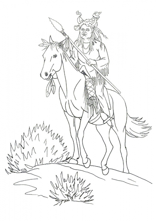 531x750 Native American Designs Coloring Pages Horse Coloring Page