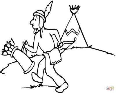 400x322 Native American Horse Coloring Pages Page Of Winnebago