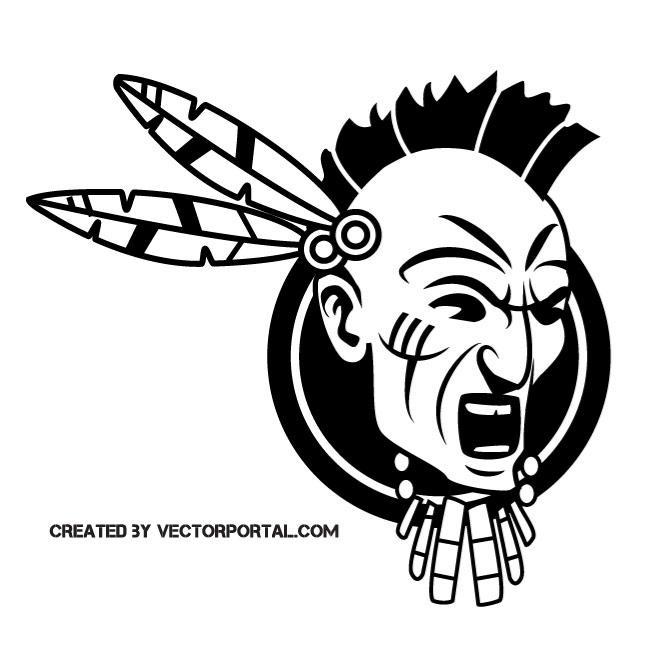 660x660 Native American Warrior