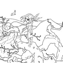 220x220 Native American Warrior Coloring Pages