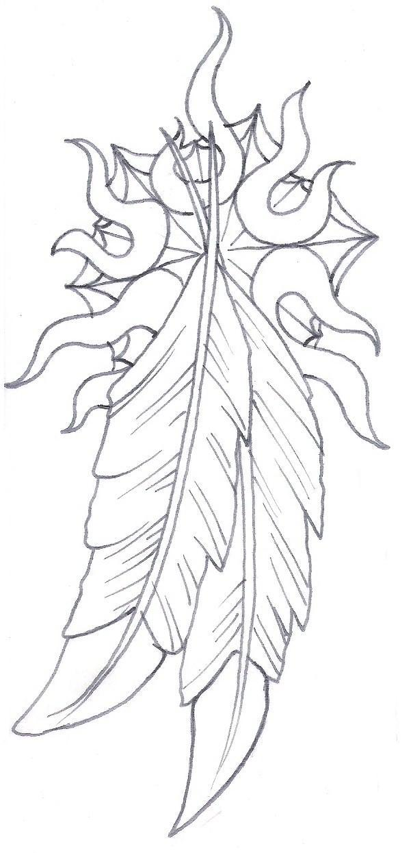 604x1245 Native American Feathers And Wolf Tattoos For Women In 2017 Real