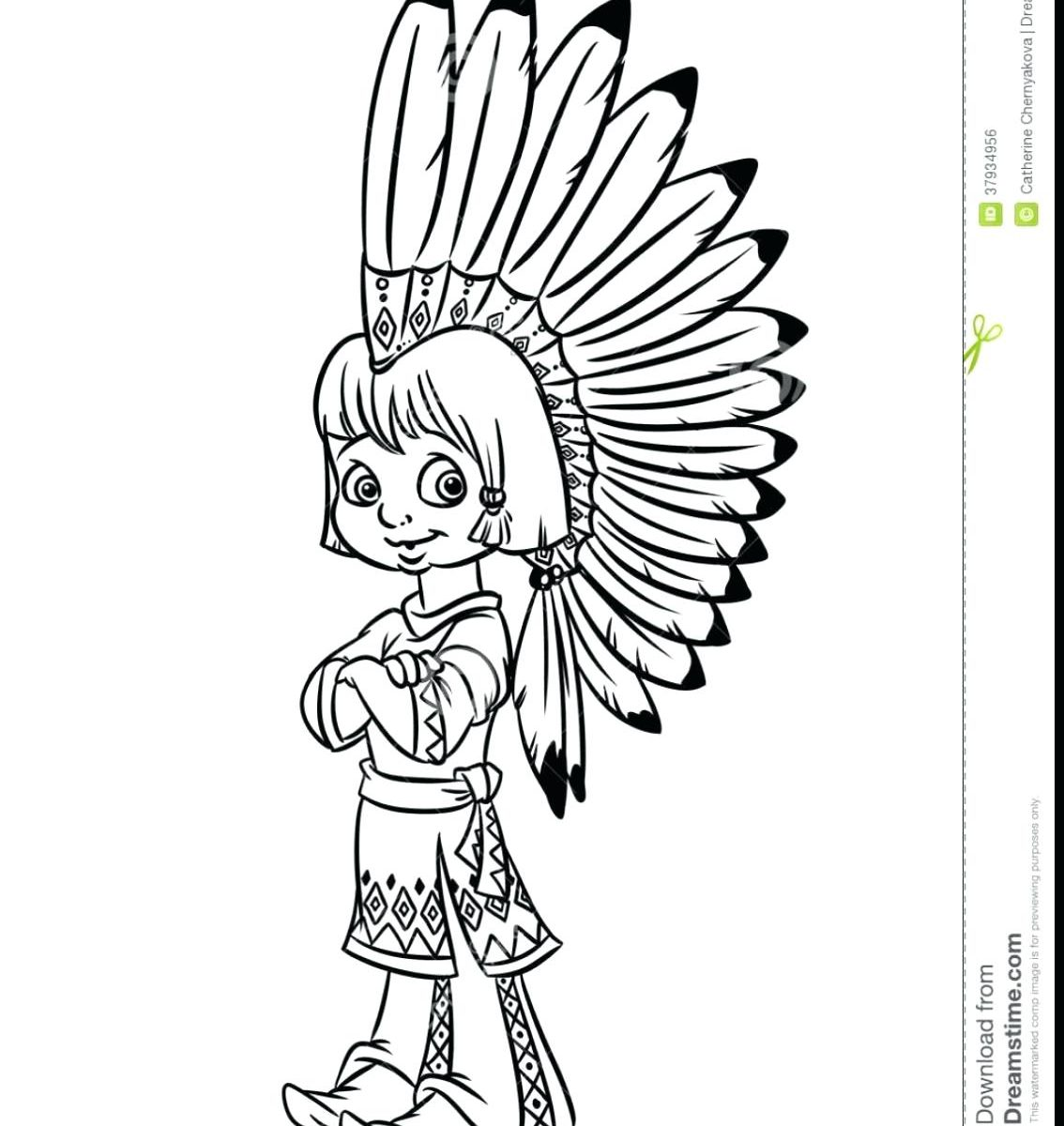 1134x1200 Cherokee Indian Coloring Pages