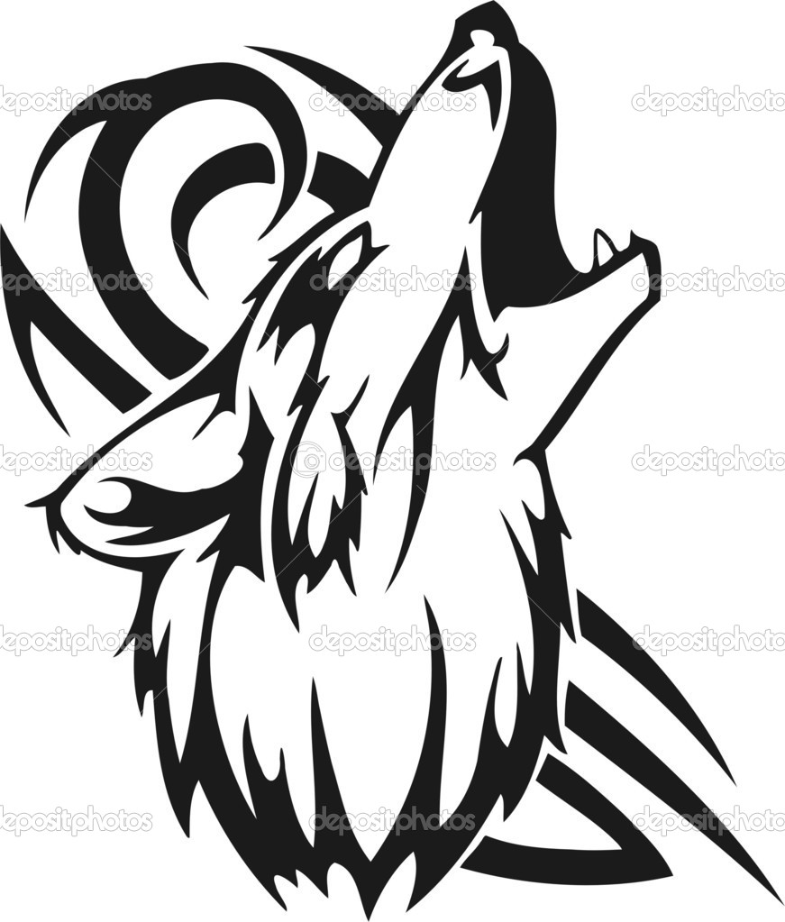 Native American Wolf Drawing At Getdrawings Com Free For Personal