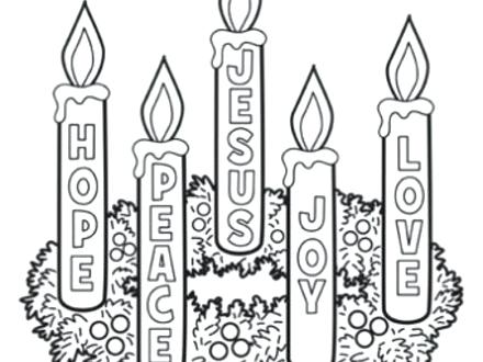 440x330 Coloring Pages Nativity Omnitutor.co
