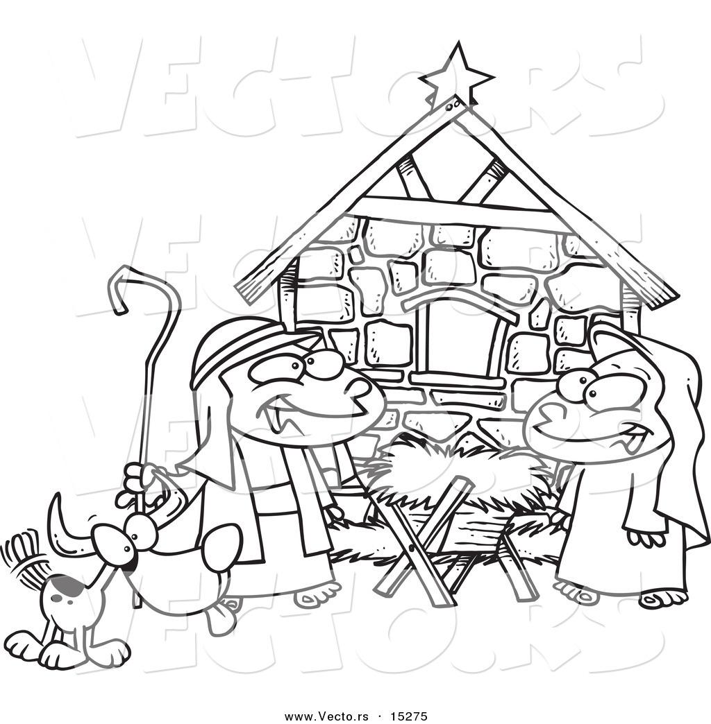 1024x1044 Drawn Child Nativity Scene